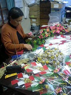 正月商品の出荷が始まりました。